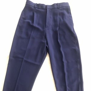 Royal Bleu Polyester Pants